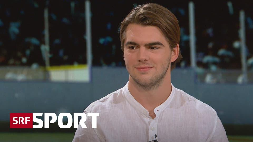 Hischier im «sportpanorama» - «Der Vertrag gibt mir eine Sicherheit fürs Leben»