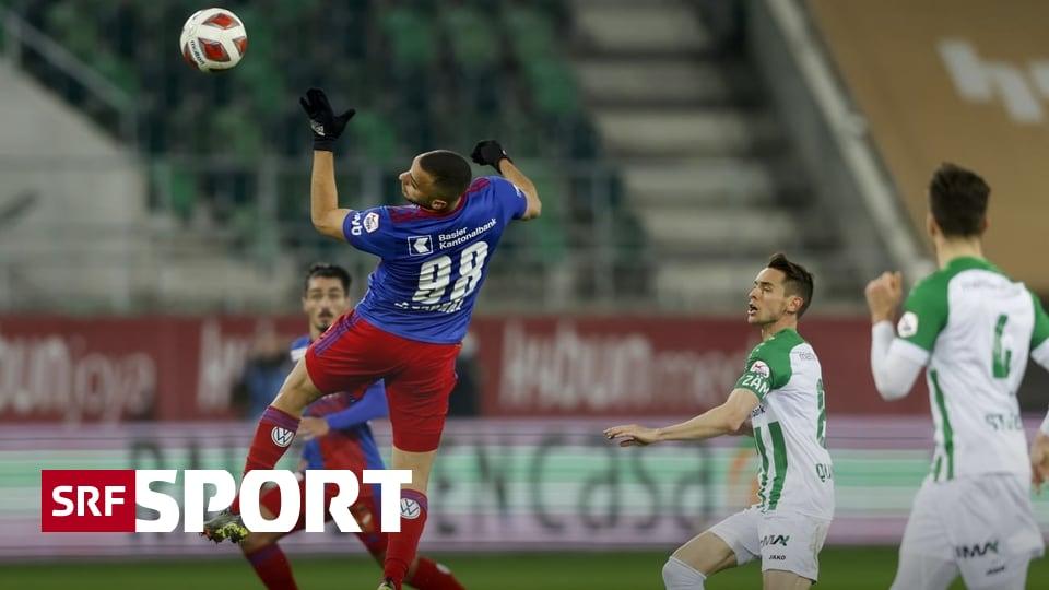 Super League: TV-Spiel Runde 7 - FCSG vs. FCB: Alle Augen auf Cabral - nicht aber auf Quintilla
