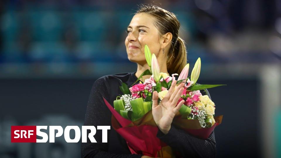 Russin tritt zurück - Scharapowa zieht einen Schlussstrich unter ihre Karriere