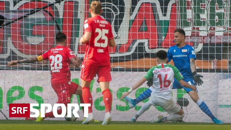 Embolo trifft für Gladbach - Trotz Vargas-Tor: Union trotzt Augsburg Punkt ab