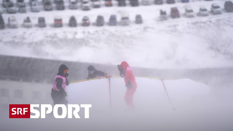 Wegen zu starkem Wind - Slalom der Männer in Naeba abgesagt