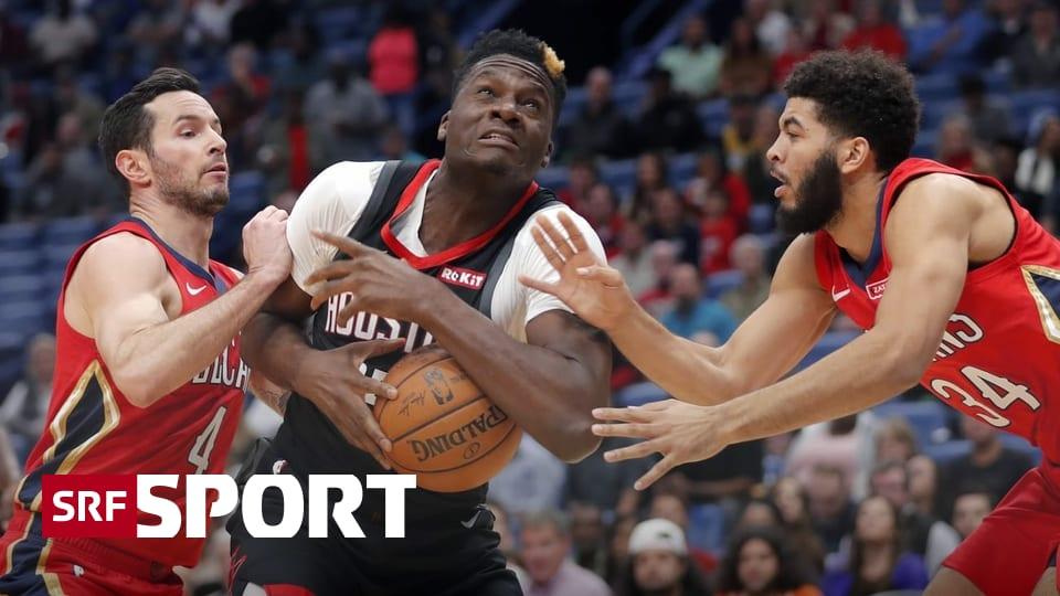 Houston Rockets im Hoch - Capela pflückt schon wieder 20 Rebounds