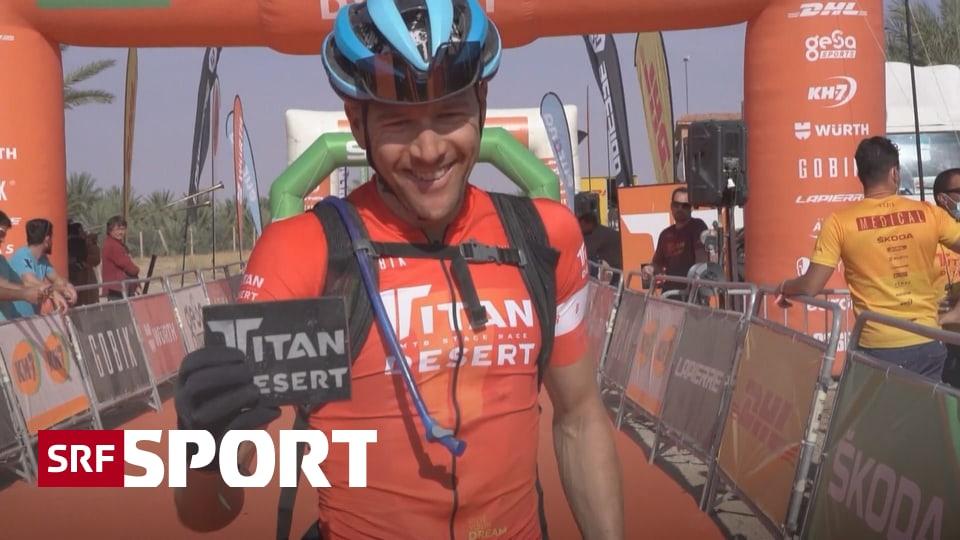 Mountainbike in der Wüste - Schweizer Sieg am «Titan Desert»