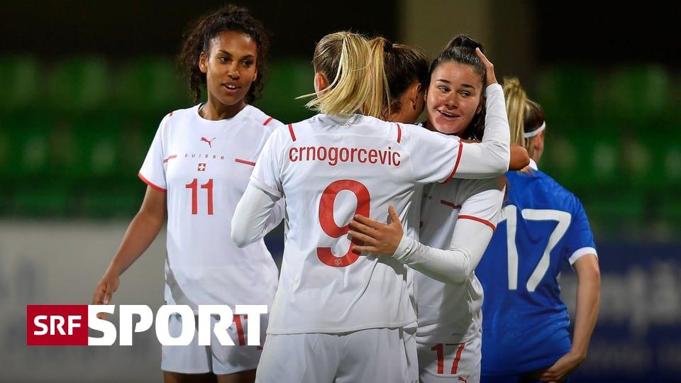 WM-Quali: 2. Schweizer Spiel - Auch dank 4 Toren in 5 Minuten: Frauen-Nati bezwingt Moldawien
