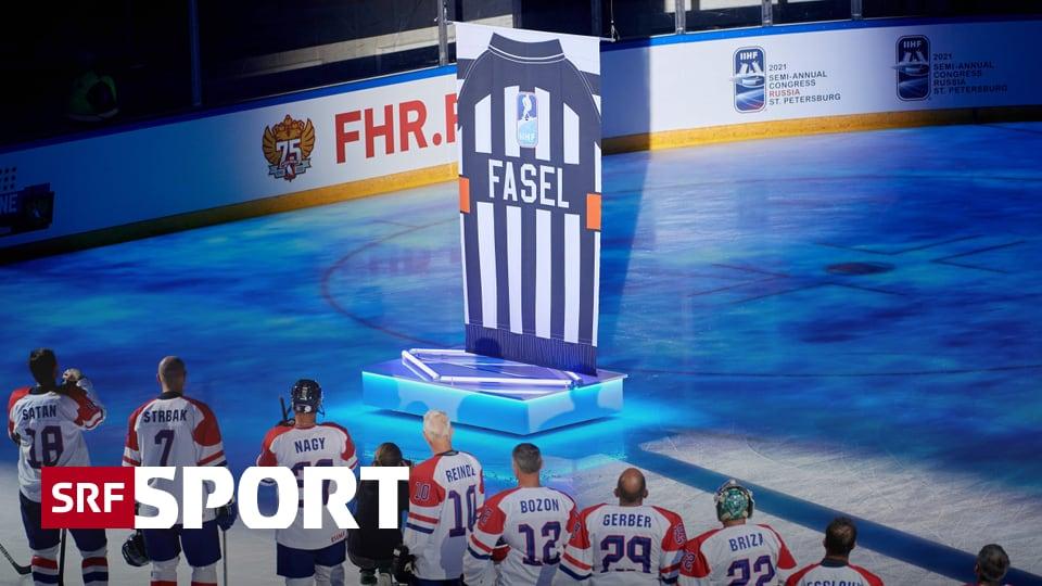 News aus dem Eishockey - Fasel in die Hall of Fame aufgenommen