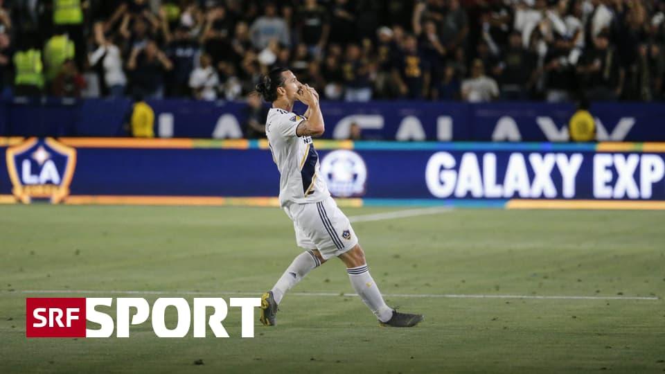 «Ibra-Kadabra» zaubert wieder - Ibrahimovic führt Galaxy mit Traumtor und Hattrick zum Derby-Sieg