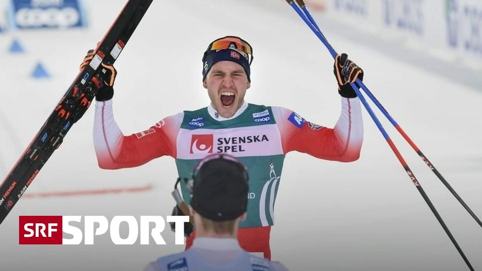 Siege für Golberg und Johaug - Norwegische Festspiele bei der Ski Tour