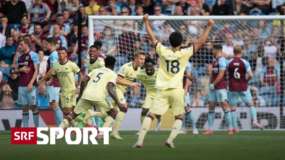 Fussball aus den Topligen - Arsenal jubelt dank Ödegaard – Petkovic gewinnt mit Bordeaux