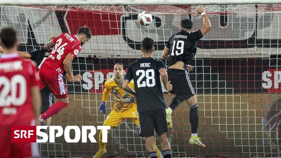 2. Hauptrunde im Schweizer Cup - Thun schaltet GC aus - Luzern weiter als Minimalist unterwegs