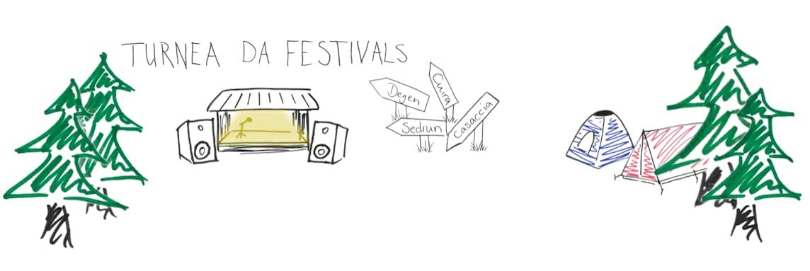 Turnea da festivals 2018