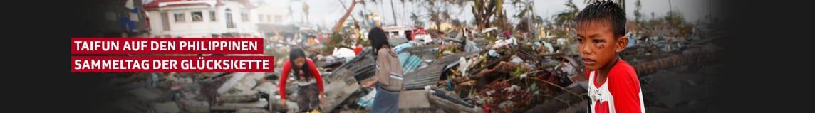 Glückskette - Sammeltag «Taifun Haiyan»