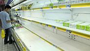 Verseuchte Milch wurde aus den Verkaufsregalen entfernt.