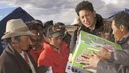 Tibeter sind auf Hilfe angewiesen.
