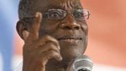 John Atta Mills gewann die Wahlen in Ghana.