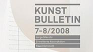 Aktuelle Ausgabe des Kunstbulletin.