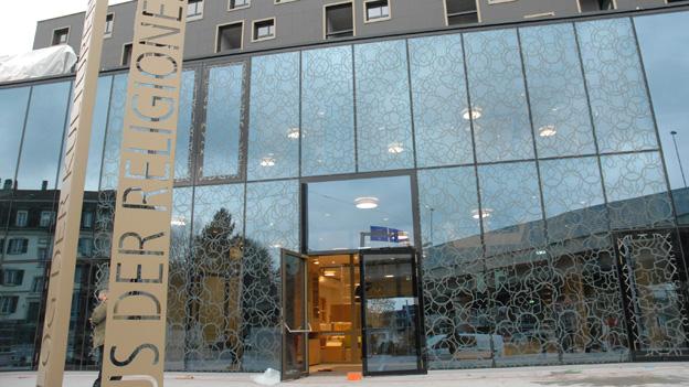 Das Haus der Religionen in Bern ist fast fertig.
