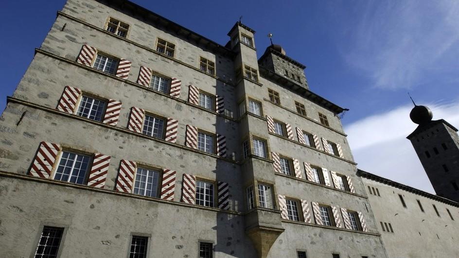 Das Stockalperschloss ist Sitz der Gemeindeverwaltung Brig-Glis.