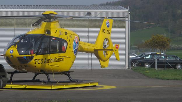 TCS Rettungshelikopter