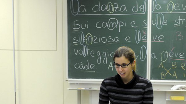 Die Schule im Tessin: vieles ist ähnlich, einiges ist komplett anders als in der Deutschschweiz.
