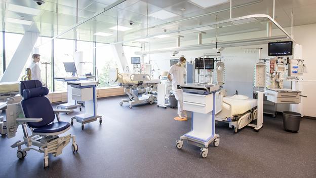 Neues Notfallzentrum im Kantonsspital Luzern - nun wird alles digitalisiert