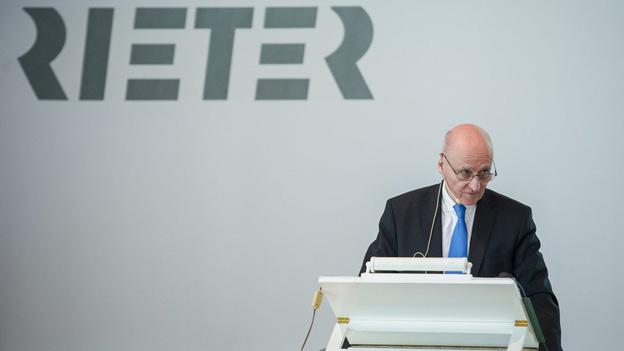 Rieter Chef Erwin Stoller schaut optimistisch in die Zukunft.