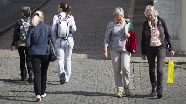 Olten hat für einen literarischen Spaziergang viel zu bieten (Bild: Keystone)