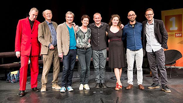 Thomas C. Breuer, Franz Hohler, Alfred Dorfer, Gisela Widmer, Simon Enzler, Stefanie Grob, Simon Chen, Bänz Friedli