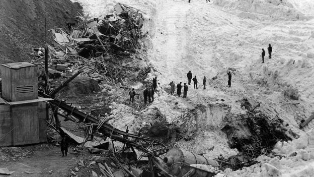 Die Katastrophe von Mattmark zerstörte auch den Glauben an die Technik.