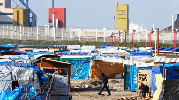 Die Flüchtlingslager in Calais gehören mittlerweile der Vergangenheit an.