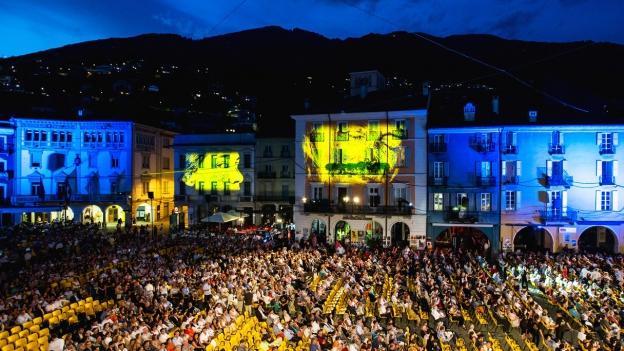 Das Freiluftkino auf der Piazza Grande ist seit Jahrzehnten das Herzstück des Filmfestivals von Locarno