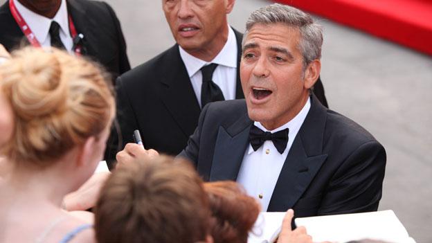 George Clooney am Venedig Filmfestival 2011.