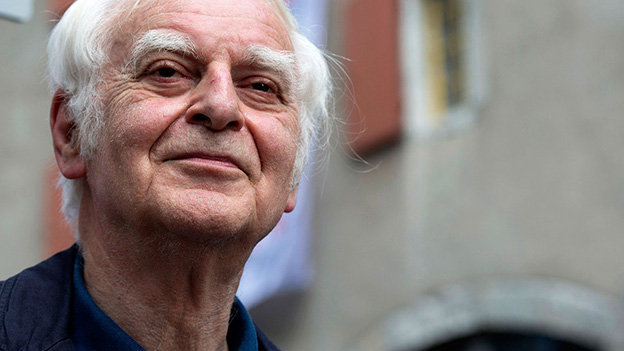 Adolf Muschg an den Solothurner Literaturtagen, Juni 2014.