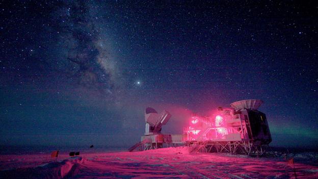 Das BICEP-Teleskop am Südpol