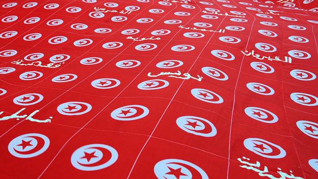 die tunesische Flagge