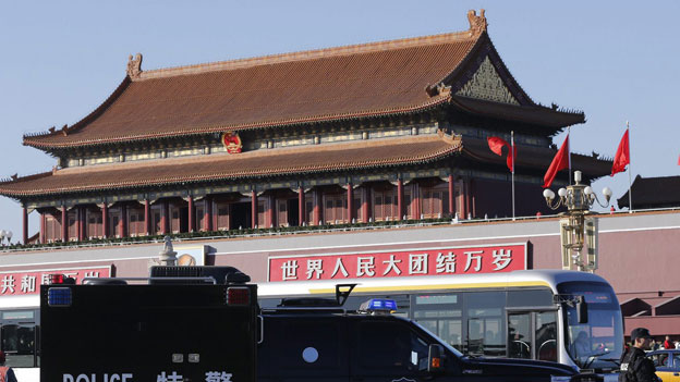 Tiananmen-Platz in Peking.