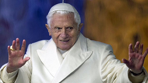 Papst Benedikt XVI am 31. Dezember 2012.