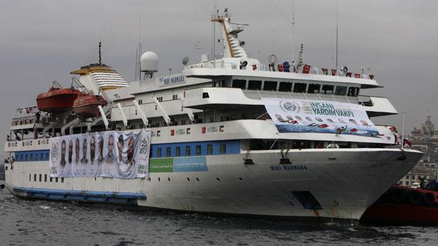 Israel liess die Mavi Marmara – bekannt als Gaza-Hilfsflotte – im Mai 2010 erstürmen.