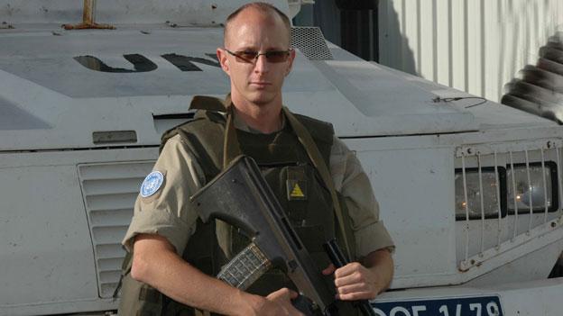 Daniel Soudek auf Blauhelm-Mission am Golan