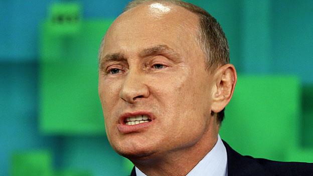 Der russische Präsident Wladimir Putin.