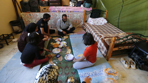 Die Flüchtlingszahlen in Syrien sind dramatisch gestiegen.