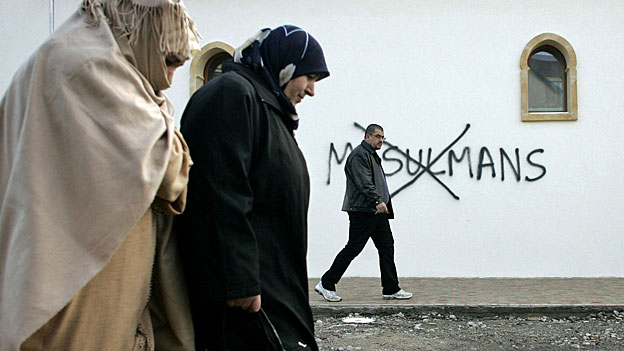 In Frankreich stossen Muslime immer häufiger auf Ablehnung und Hass.
