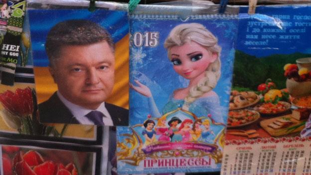 Wahlpropaganda in Kiew