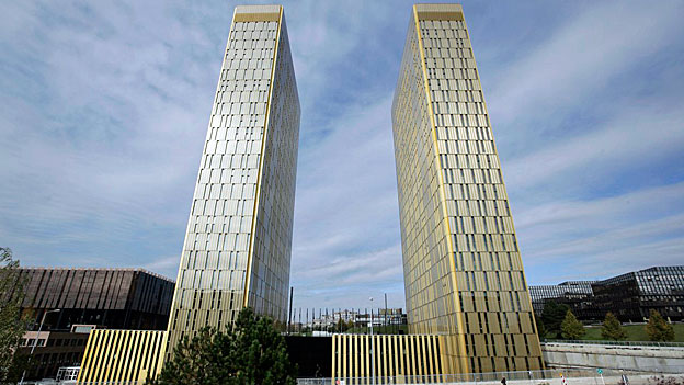 Die Türme des Europäischen Gerichtshofs auf dem Kirchberg-Plateau in Luxemburg. Die Richter haben befunden: Ein Staat muss die Möglichkeit haben, Sozialleistungen zu versagen.