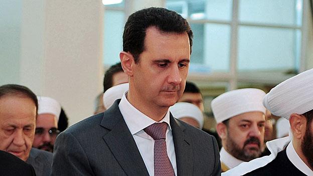 Ein Präsident ohne Land - in Syrien verliert Präsident Assad zunehmend die Kontrolle.