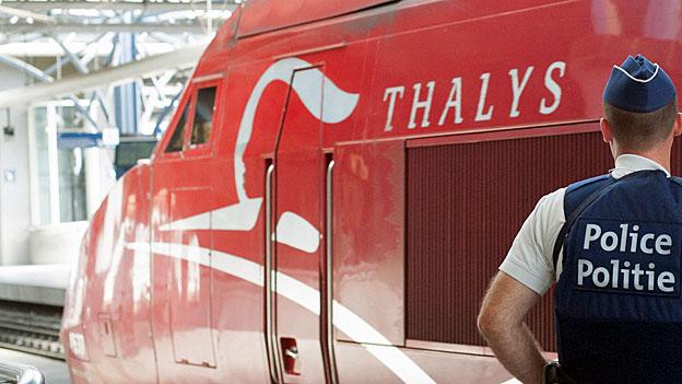 Nach dem verhinderten Attentat im Hochgeschwindigkeitszug «Thalys» ist Sicherheit in Zügen das grosse Thema.