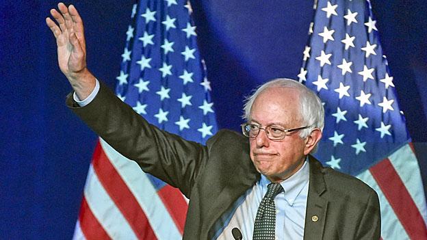Der US-Demokrat Bernie Sanders füllt Stadien. Der etwas gebeugte 73-jährige Senator aus Vermont zieht  mehr Menschen an als alle anderen.