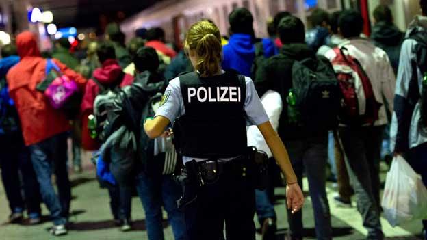 Am Bahnhof München kamen an diesem Wochenende wieder Tausende Flüchtlinge an.