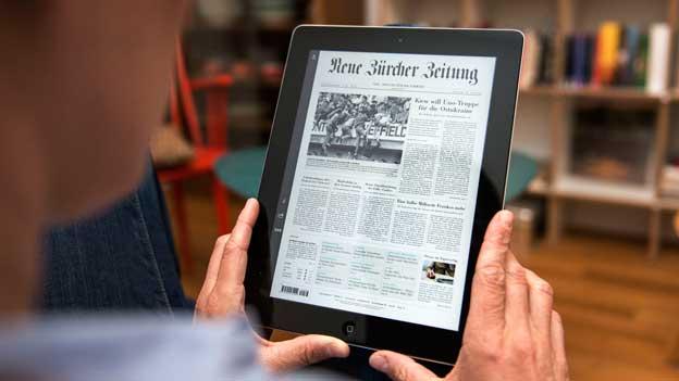 Der digitale Kiosk - wenn der Zeitungsartikel nicht gefällt, gibt es das Geld zurück.