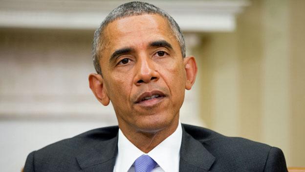 US-Präsident Barack Obama anlässlich einer Medienkonferenz am 15. September 2015.