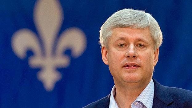 Kanada verändert sein Gesicht - Nicht nur friedfertig, sondern wehrhaft: Premier Stephen Harper.
